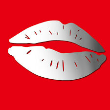 Large Lips Acrylic Wall Stickers / Wall Decors / Wall Art / Decorations
