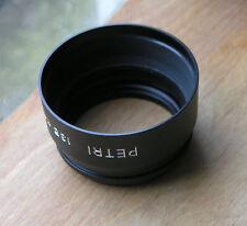 52mm screw in Lens Hood shade telephoto japan used 63  x 37 petri badged