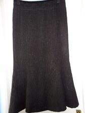 Wool Calf Length Business A-line Skirts for Women