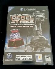 Star Wars Rebel Strike Limited Edition Preview Disk Sealed Rare Atari Gamecube