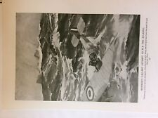 m17a ephemera 1920s book plate r a f commander grieve rescued from atlantic raf