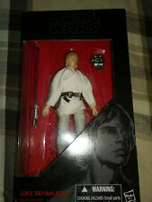 Hasbro Star Wars Figures Black Series Luke Skywalker # 21 and Princess Leia #30