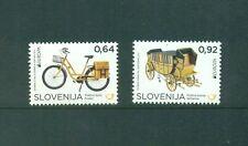Slovenia 2013 Europa Transport Bike Coach set Mnh