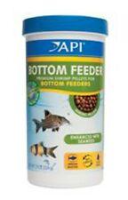 API Bottom Feeder Premium Shrimp Pellets for all Bottom Feeder Fish 7.9 Ounces