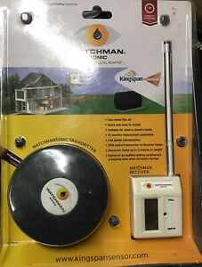 New Kingspan Watchman Sonic  Ultrasonic Oil Level Monitor FREE POSTAGE