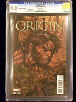 ORIGIN II #1 CGC GRADED 9.8 LARROCA VARIANT COVER MARVEL COMICS WOLVERINE LOGAN