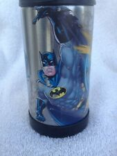 "Vintage BatmanThermos ~Funtainer~Stainless Steel Bottle 7-1/4""H"
