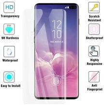 Film Tempered Glass Curved for Samsung Galaxy S10 Plus + Protection Display