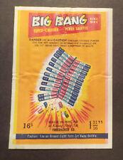 * Big Bang Firecracker Pack Label - Vintage Fireworks Labels