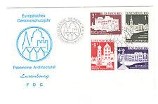 Luxemburg FDC Ersttagsbrief 1975 Denkmalschutzjahr Mi.Nr.900-3