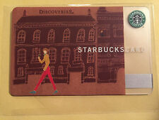 Starbucks Card 2010 Japan Discoveries Milano #6060 Extremely Rare and Limited