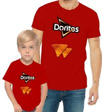 Doritos Chips Classic Adults Mans & Womens & Kids & Boy & Girl T-Shirt
