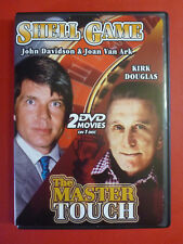 Shell Game / The Master Touch DVD DOUBLE FEATURE John Davidson Kirk Douglas