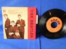 THE BEATLES EP ODEON SOE 3739 ORIG FRANCE RARE LANGUETTE EXC