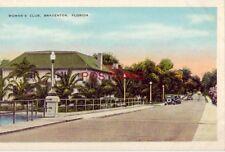 Woman'S Club overlooking Manatee River, Bradenton, Florida