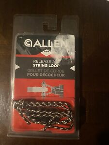 Bow String Release Aid String Loop Allen Archery (3-Pack) Multi Color