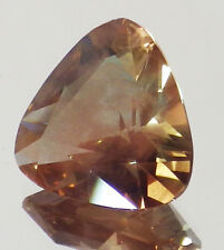 OREGON SUNSTONE  GOLDEN AND COGNAC WITH STRONG PINK SHILLER 6.81CT SEE VIDEO