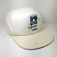 Vintage Software Valley Snapback Cap Trucker Hat Made in the USA
