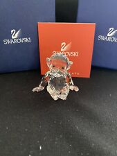 Swarovski Crystal Figurine Chimpanzee Monkey W/Coa and original box