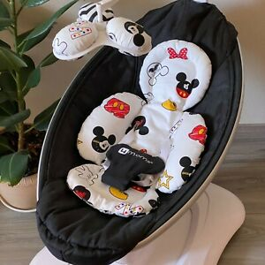 Mickey Mouse 4moms mamaRoo insert, reversible infant insert, replacement balls