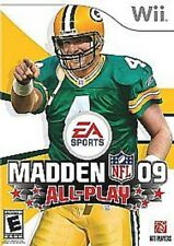 Madden Nfl 09: All-Play (Nintendo Wii, 2008)