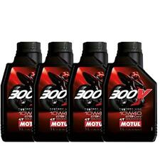 4 LT 4 LITRI OLIO MOTORE MOTUL 300V 300V 10W40 10/40 100% SINTETICO MOTO