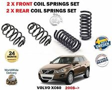 FOR VOLVO XC60 D3 D4 D5 AWD 2008-> 2x FRONT + 2X REAR LEFT RIGHT COIL SPRING SET
