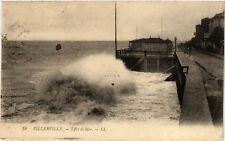 CPA   Villerville - Effet de Mer   (516483)