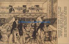 ARGENTINA THEATRE BUENOS AIRES PEINETONES EN EL TEATRO BACLE 1834