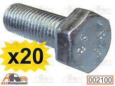 20 VIS M7x20 (BOLTS) fixation pare-chocs-chassis caisse Citroen 2CV DYANE -2100-