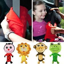 Car Seat Belt Cover Childrens Kids Cuddly Plush Animal Pal Toy Pillow Cushion