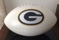NFL Signature Series Full Size Rawlings Football Green Bay Packers