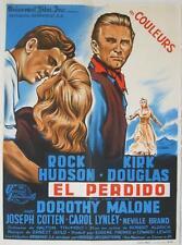 THE LAST SUNSET 1961 ROBERT ALDRICH / DOUGLAS French 24x33 NICE LITHO