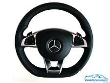AMG Mercedes Benz W213 Flat Bottom Steering Wheel Airbag OEM Genuine Super Sport