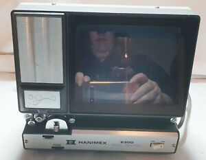 Vintage HANIMEX E300 Dual Editor Super 8 cine movie viewer editor
