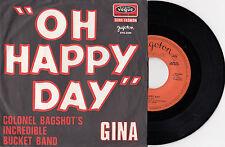 COLONEL BAGSHOT'S INCREDIBLE BUCKET BAND RARE 1969 SOUL RECORD YUGOSLAVIA 7' PS