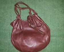 Borsa in pelle donna BLUMARINE made in Italy bag leather woman