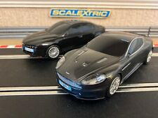 Scalextric Aston Martin DBS & Alfa Romeo Fully Serviced & New Braids