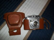 Vintage Kodak Chevron Camera with Leather Case (Untested)