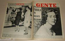 GENTE 1961/4=FABIOLA=GINA LOLLOBRIGIDA=JOAN SUTHERLAND=PERDASDEFOGU=SOMMERGIBILI