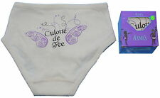 French Designer Adri 100% Cotton Organic Girls Knickers Fairy Pants NEW