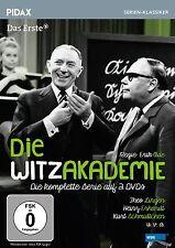 Die Witzakademie * DVD 5-teilige Comedy-Reihe mit Theo Lingen Pidax Serie Neu Ov