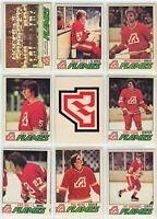 1977-78 OPC Altanta Flames 21 Card Team Set G to EX (01-03202020)