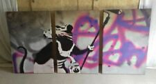 Banksy Canvas Giant (over 60in.) Art Prints