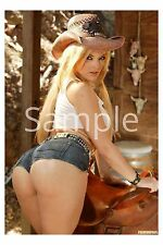 "Alexis Texas Sexy Cowgirl 2""x3"" Flexible Fridge Magnet"