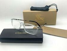Burberry New Eyeglasses OBE2282 3024 CLEAR FRAME 53-17-145MM UNISEX NIB