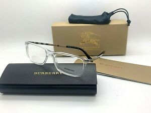 Burberry New Eyeglasses OBE2282 3024 CLEAR FRAME 55-17-145MM UNISEX NIB