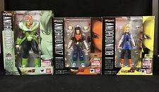 Bandai S.H.Figuarts Tamashii Limited Dragon Ball Z Android 16 17 18 Figure Set