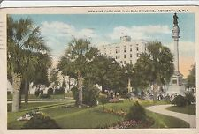 LAM(D) Jacksonville, FL - View of Hemming Park and YMCA Building in Distance