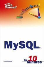 Sams Teach Yourself MySql in 10 Minutes, Newman, Chris, Good Condition, Book